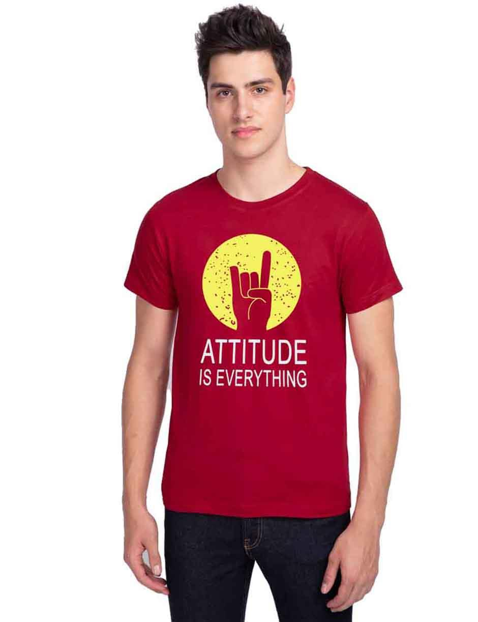 ATTITUDE IS EVERYTHING MENS TSHIRTS
