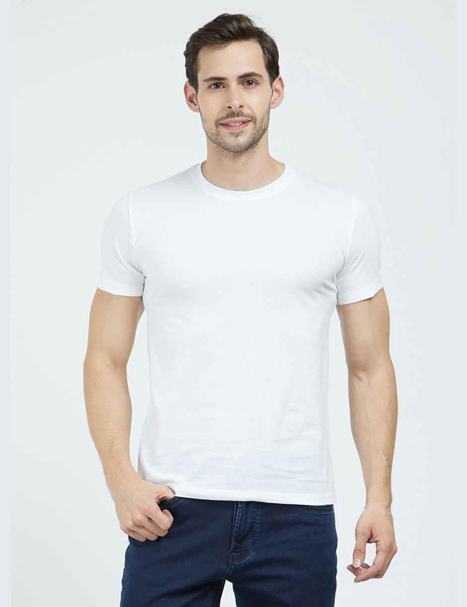 Plain White Mens Tshirt