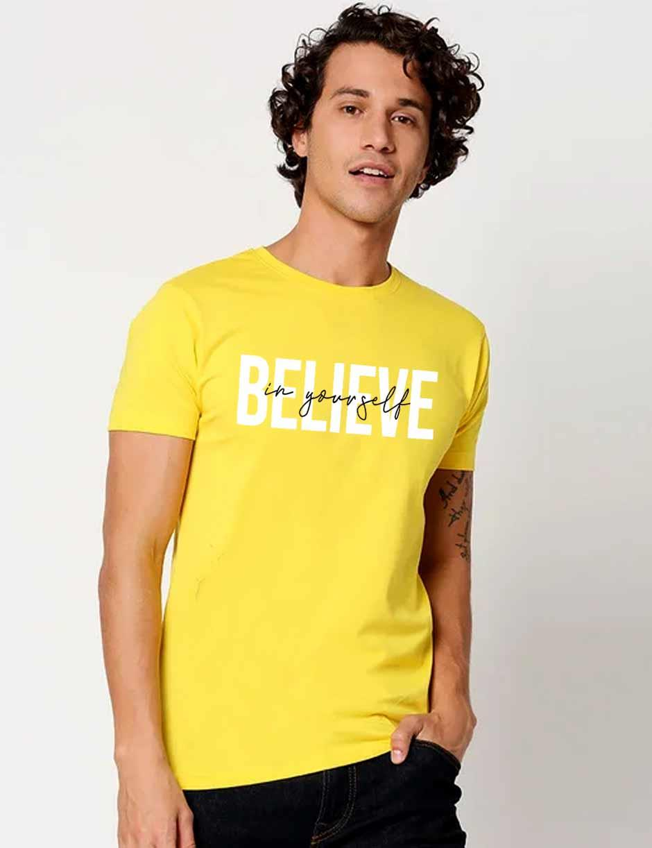 BELIEVE MENS TSHIRT