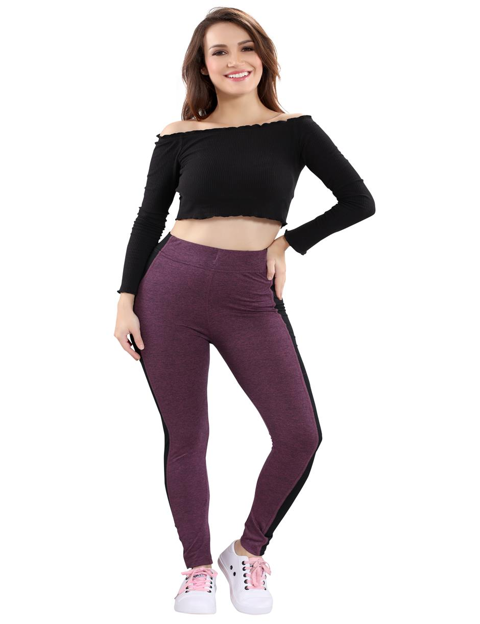 YOGA PANT purple YGP -107