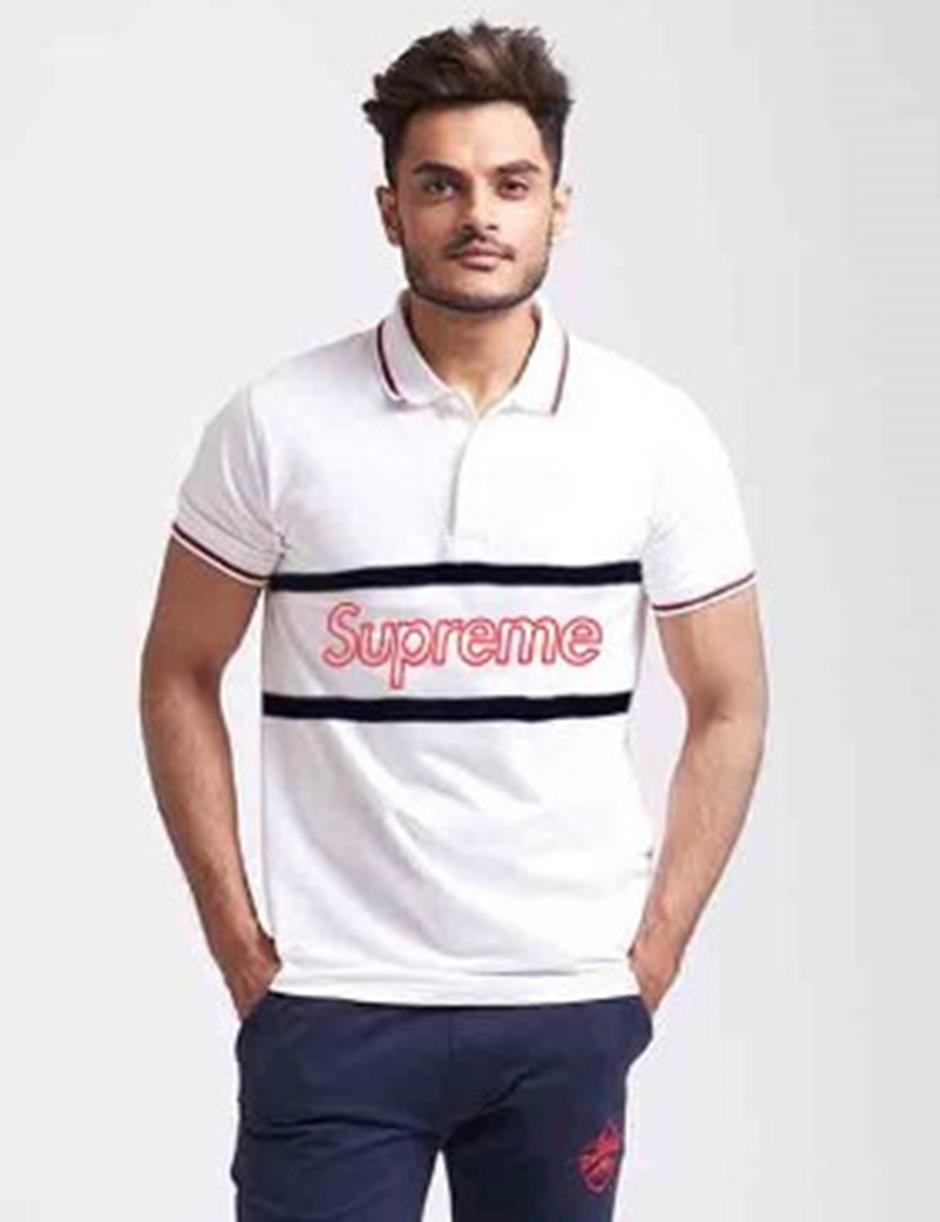 SUPREME POLO TSHIRT