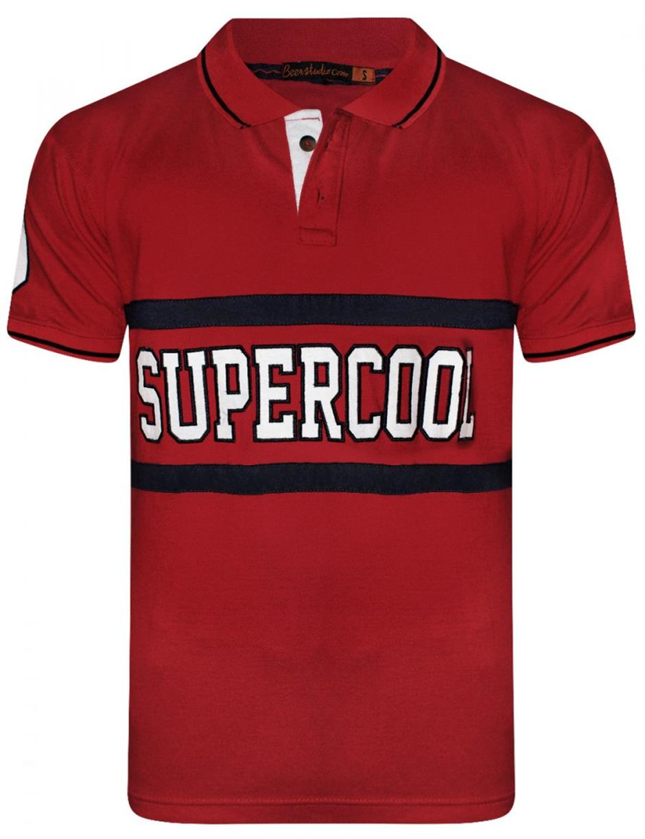 Supercool Red Polo