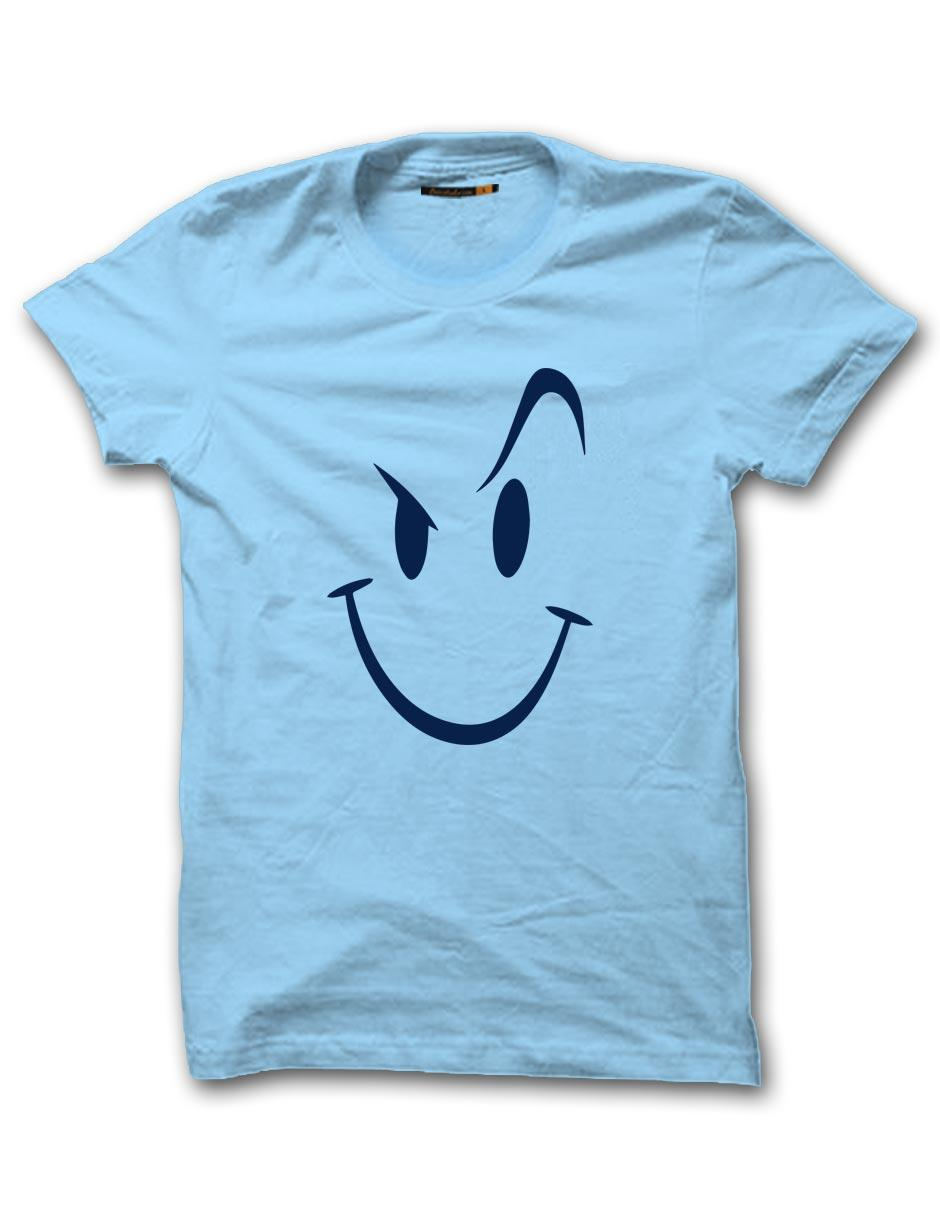 SMILEY MEN LIGHT BLUE