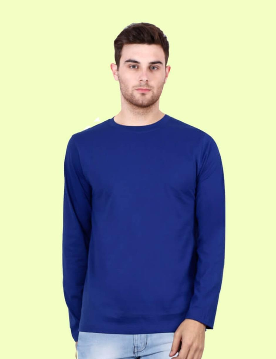 ROYAL BLUE FULL MENS PLAIN