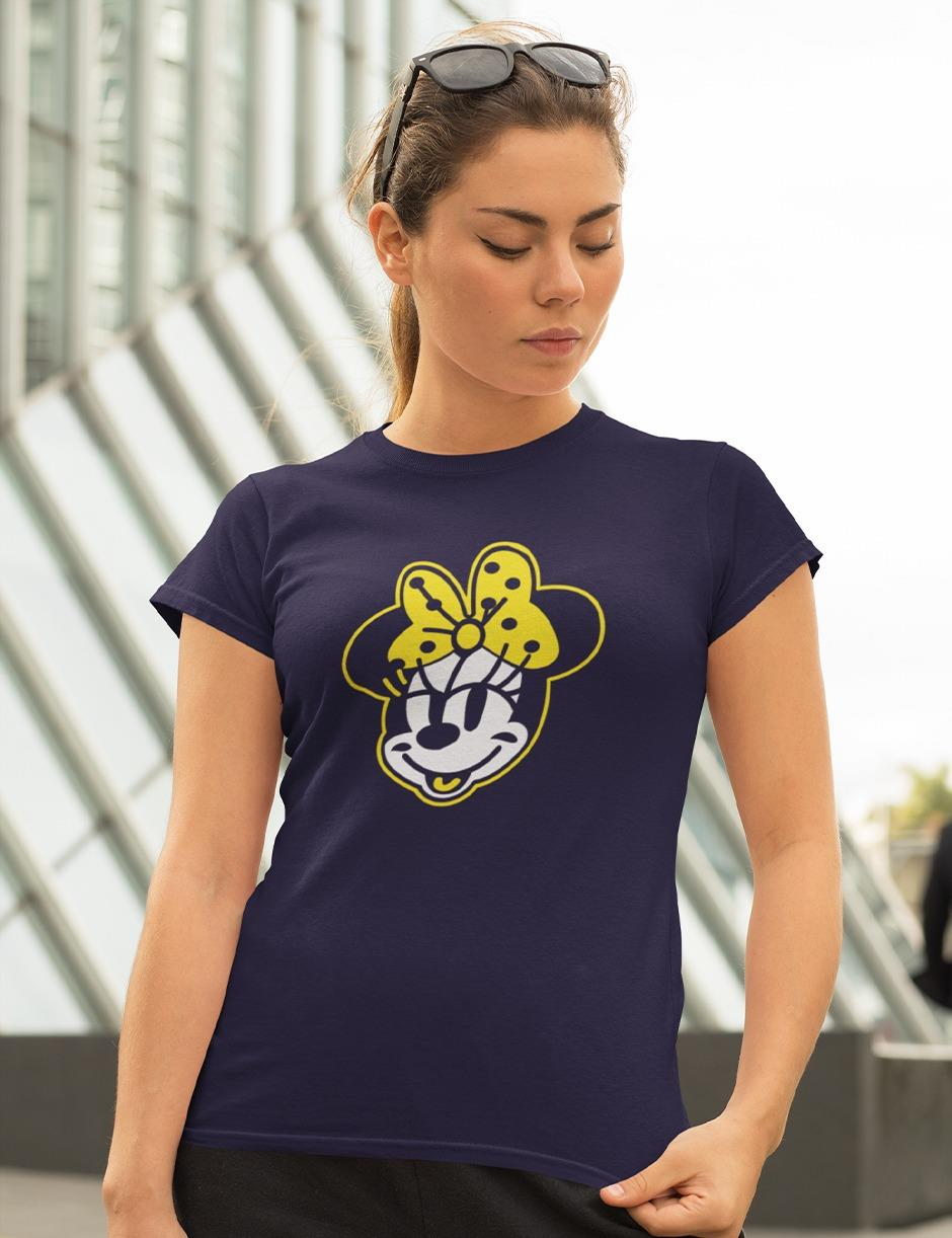Mini Navy Womens Tee