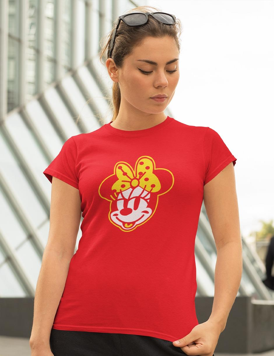 Mini Red Womens Tee