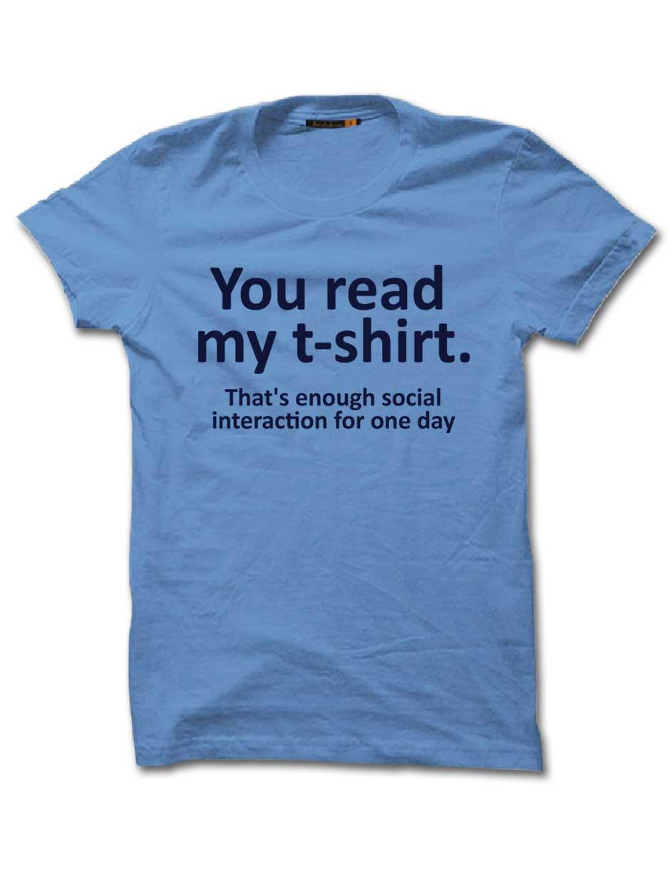 YOU READ MY TSHIRT_HALF