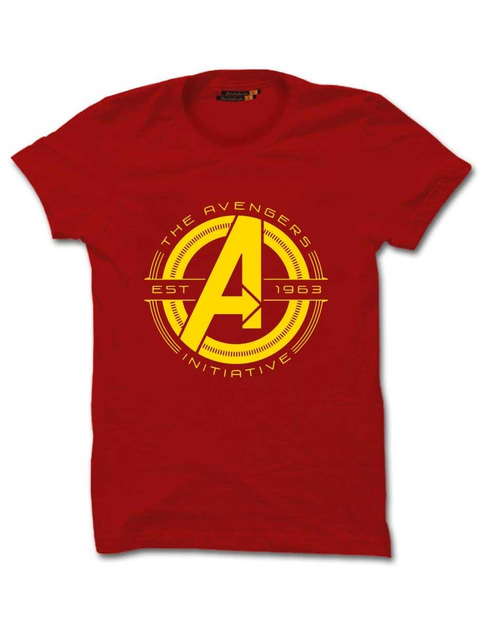 AVENGERS INITIATIVE RED UNISEX