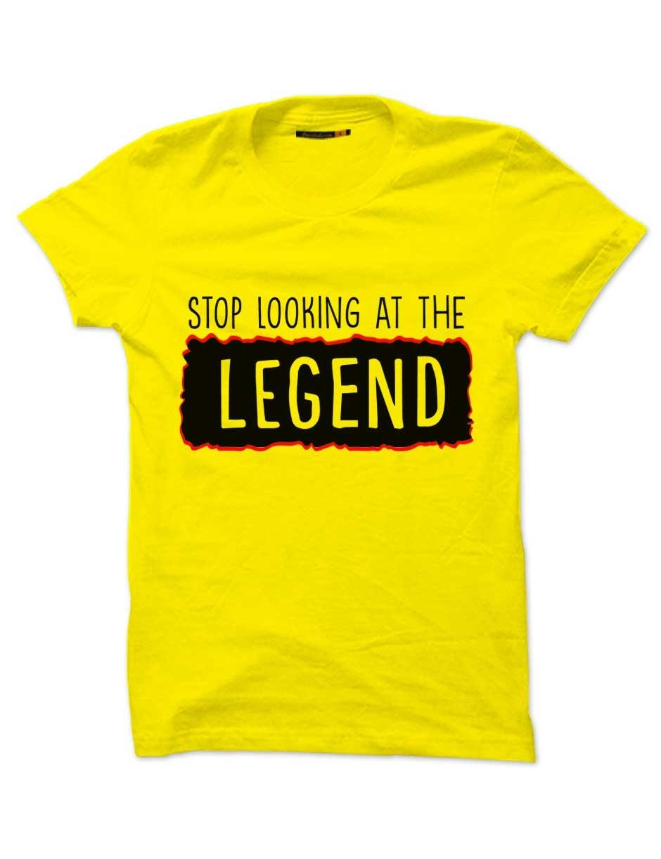 STOP LOOKING LEGEND YELLOW