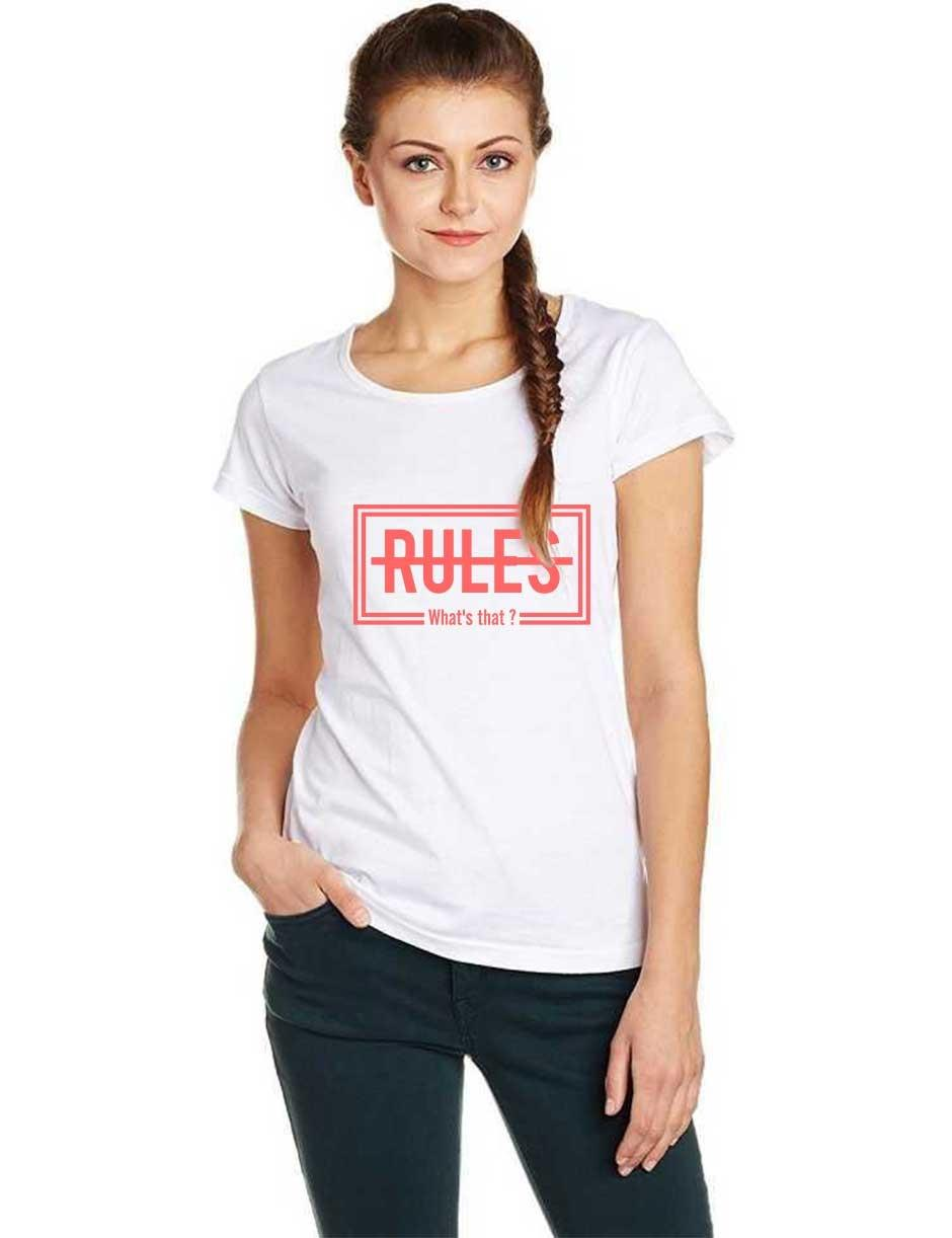 RULES WOMENS WHITE