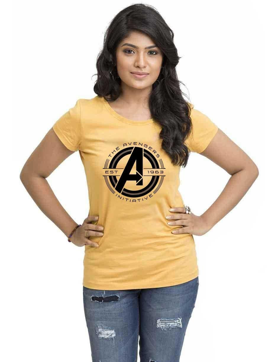 AVENGERS WOMENS YELLOW