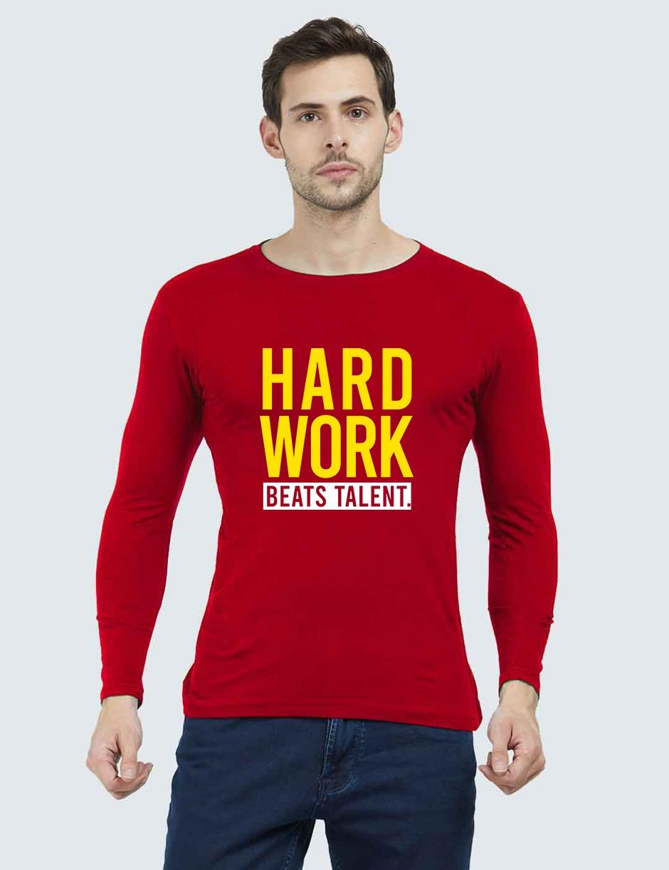 WORK HARD RED FULL