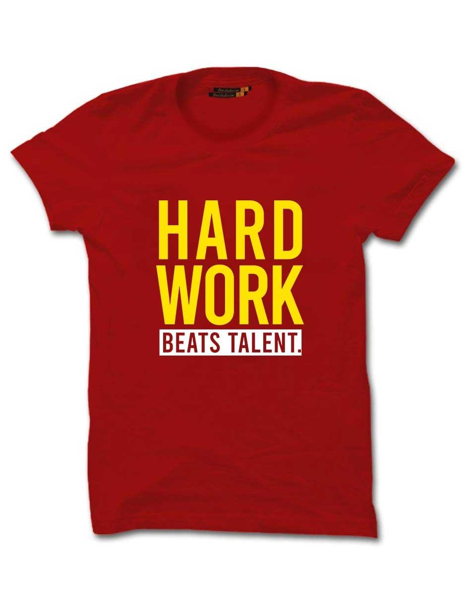 WORK HARD RED HALF