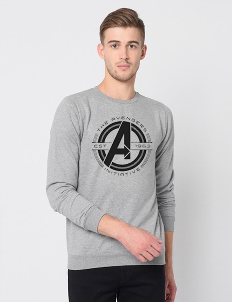 AVN INI GREY SWEAT