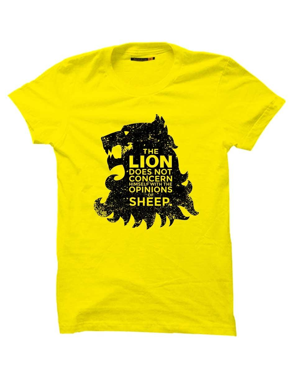 LION YELLOW UNISEX