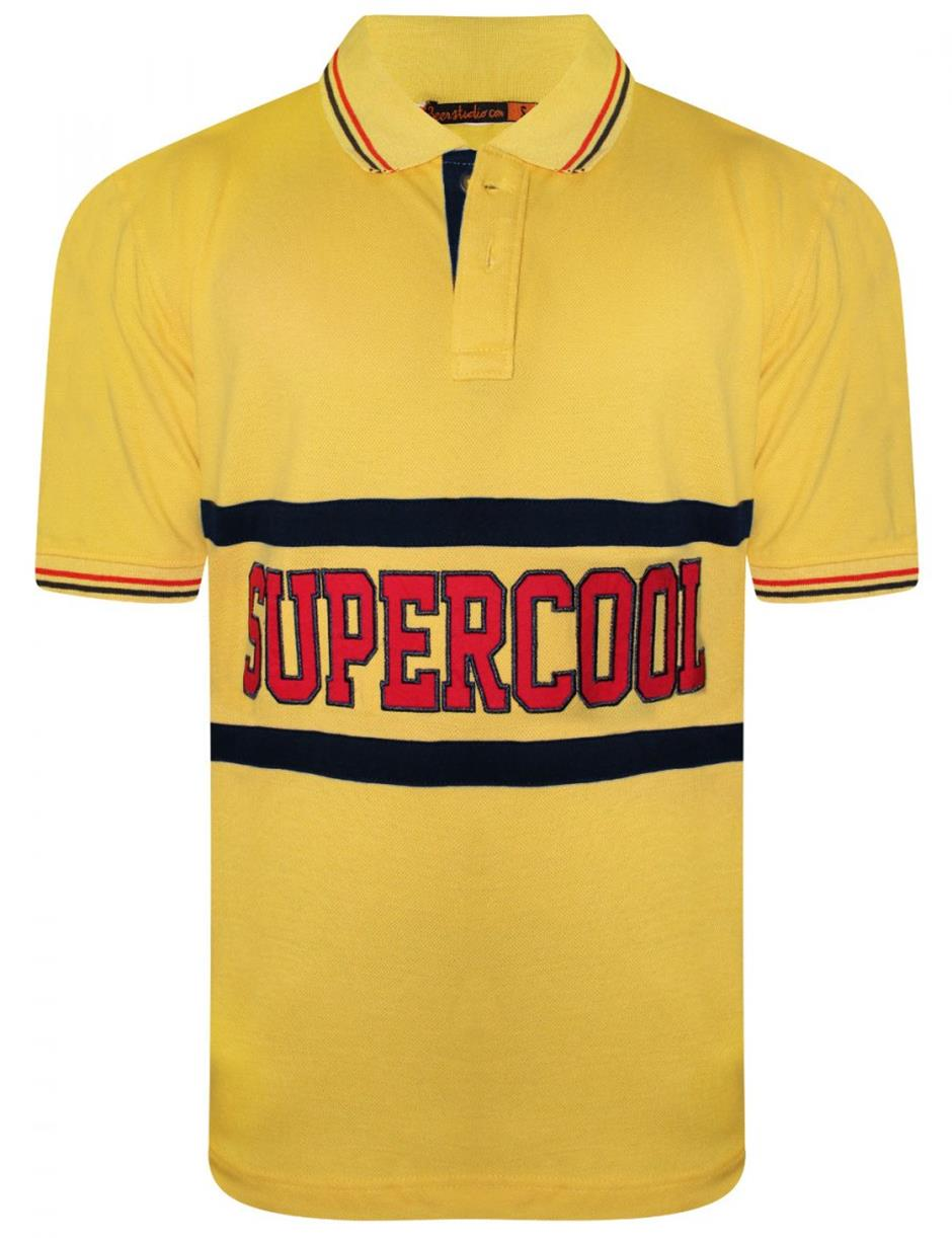 Supercool Yellow Polo