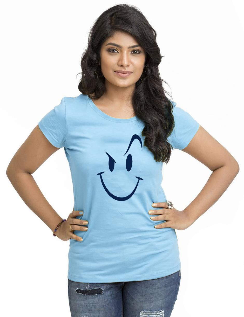 SMILEY WOMEN SKY BLUE