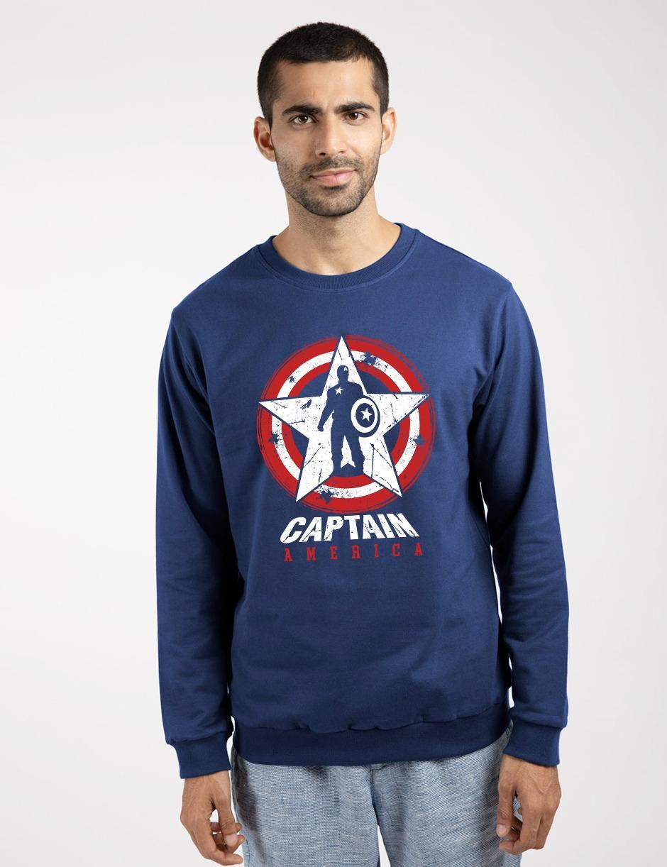 CAPT AMERICA SWEAT SHIRT