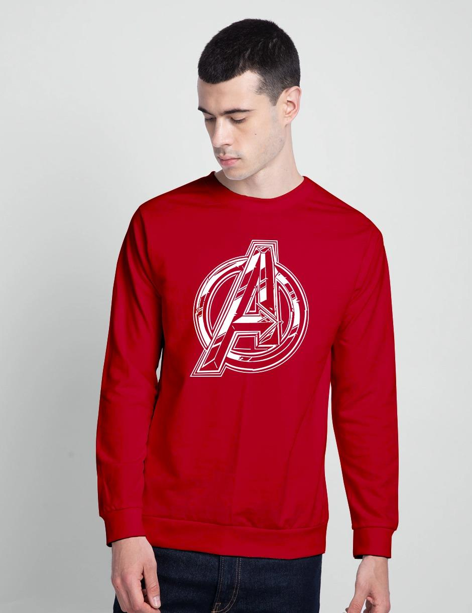 AVENGERS SHARP RED SWEAT SHIRT