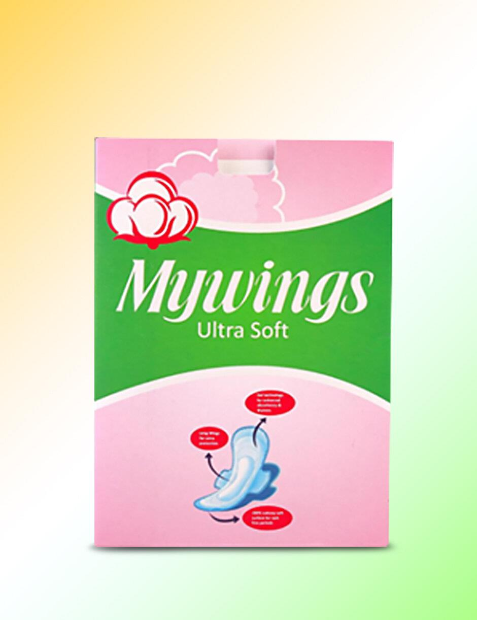 MYWINGS - PACK OF 10 SANITARY PADS